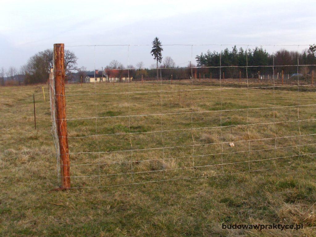 Tymczasowe ogrodzenie placu budowy