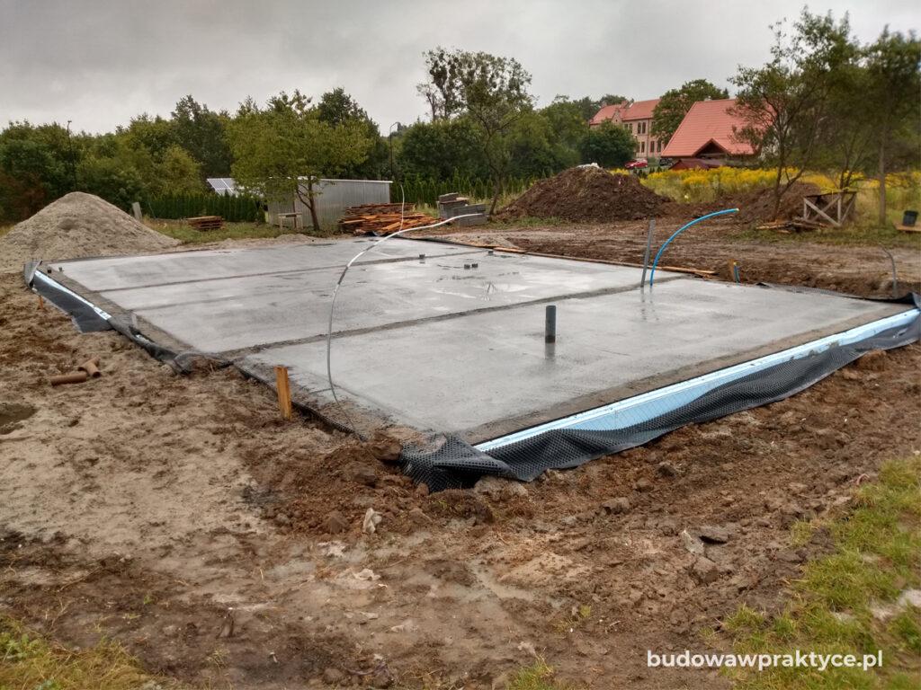wylewka betonowa stanu zero