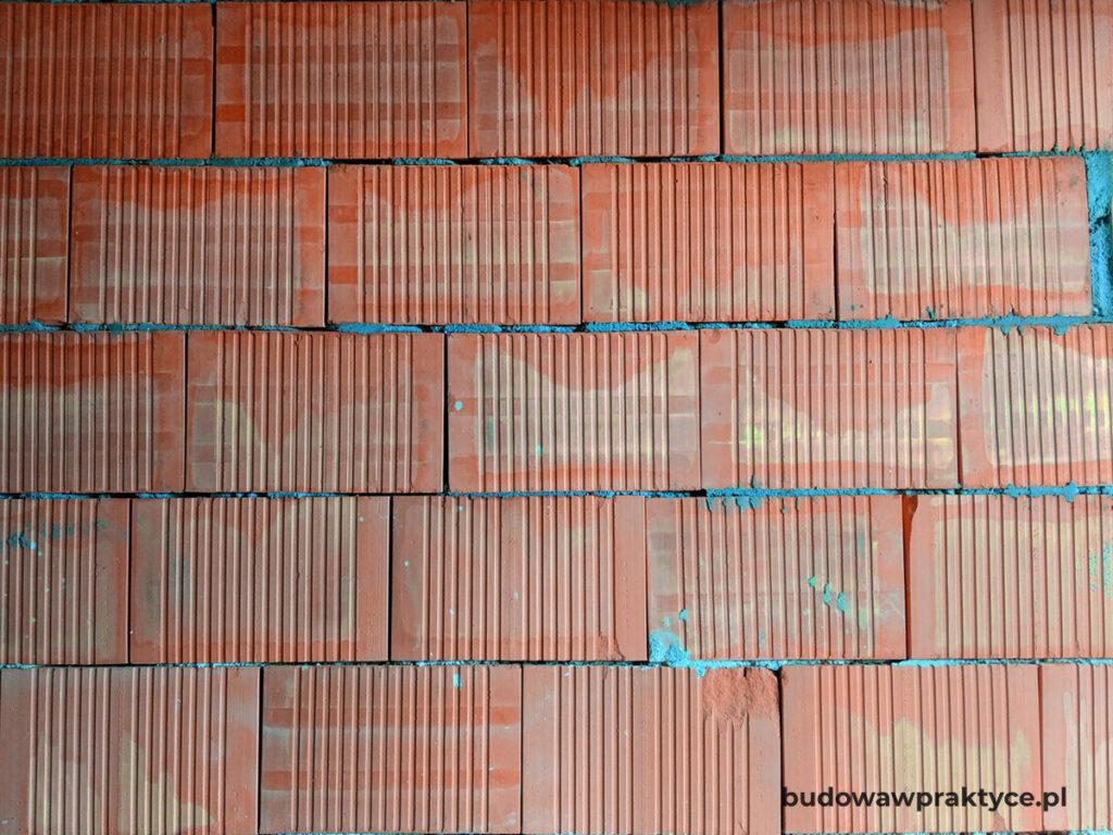 ściany murowane porotherm