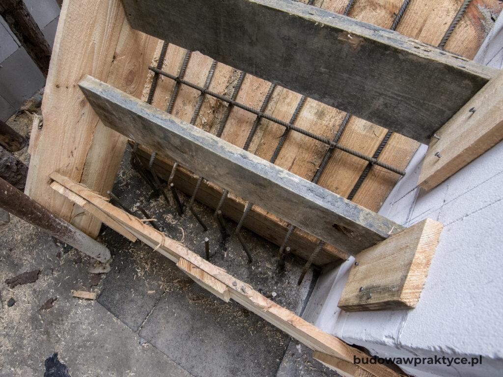 zbrojenie schodów żelbetowych
