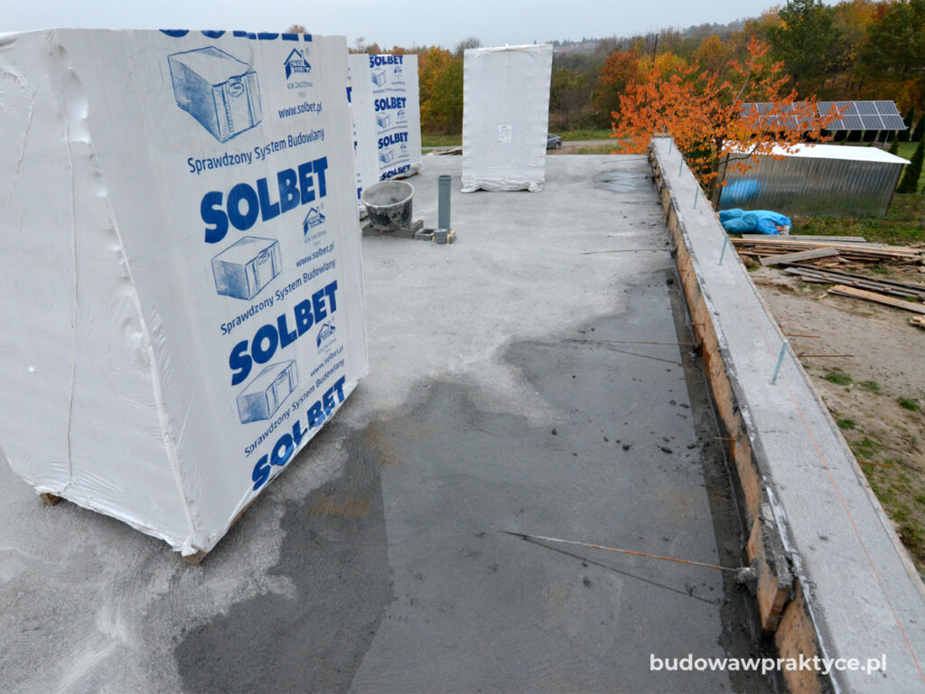 betonowanie stropu