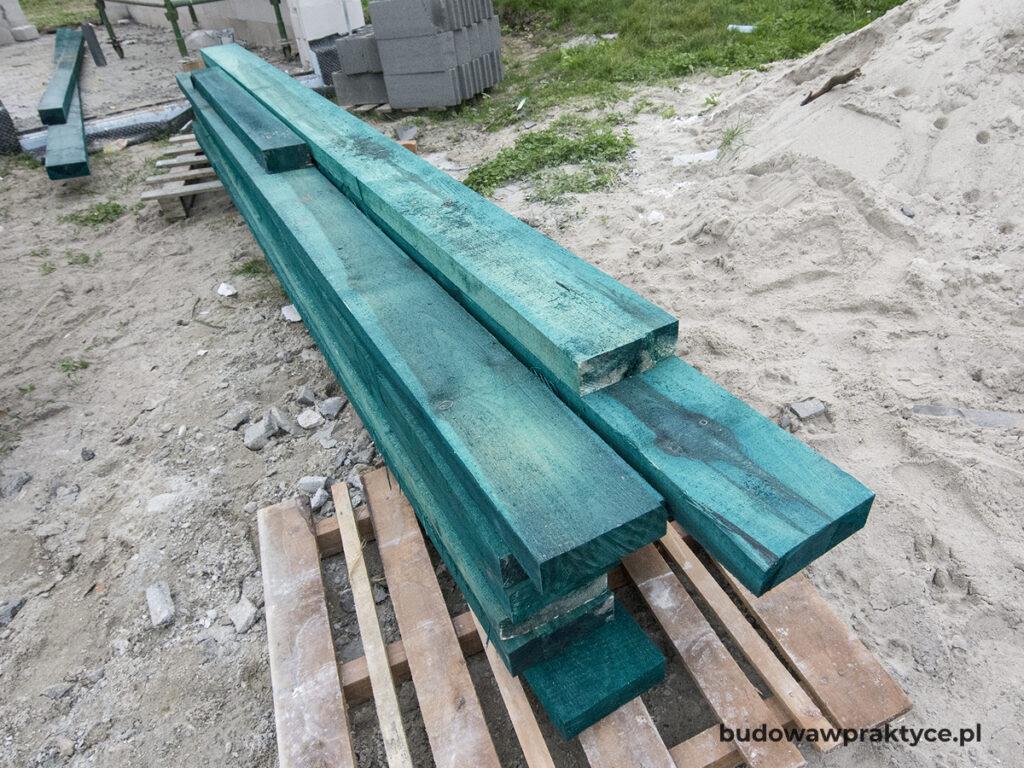 impregnacja drewna na dach