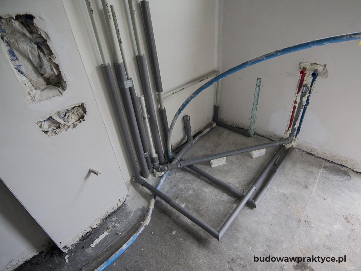 instalacja wod-kan w kotłowni